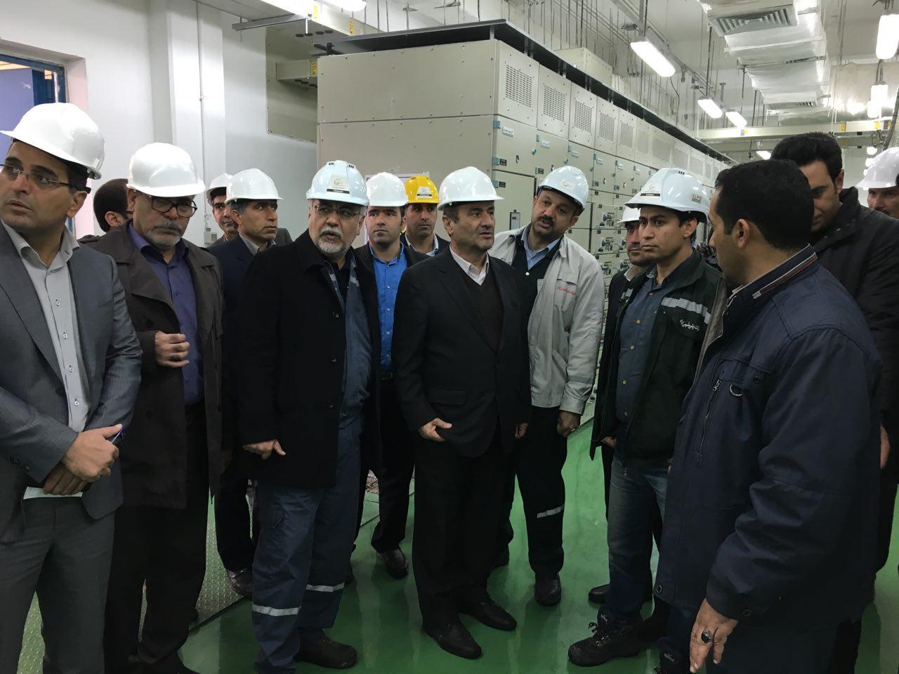 افتتاح فاز دوم پتروشیمی سال اینده به دست رئیس جمهور
