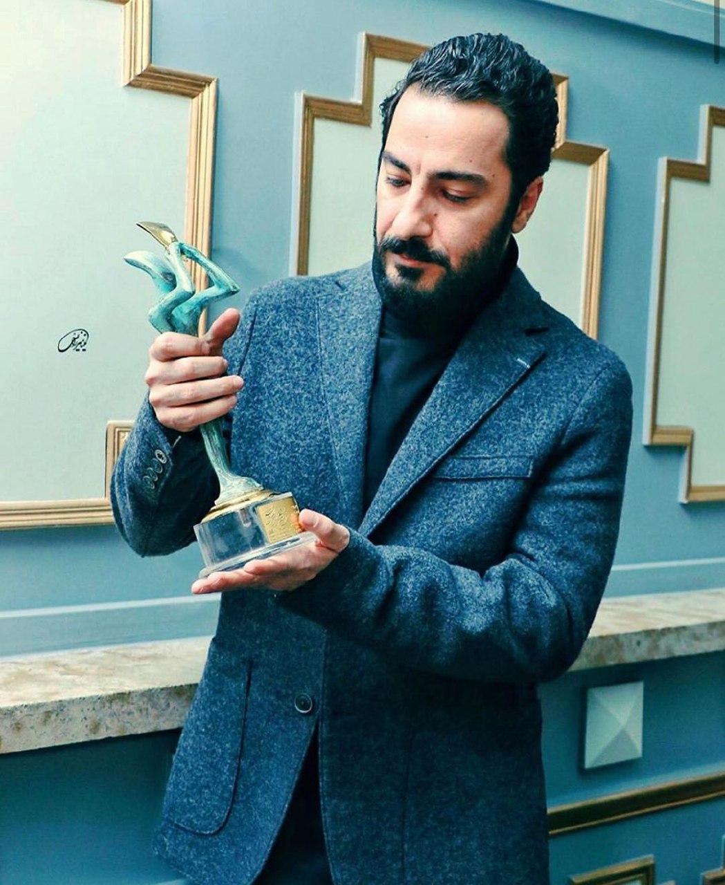 وید محمدزاده، مهمترین جایزه بازیگری عمر خود را گرفت