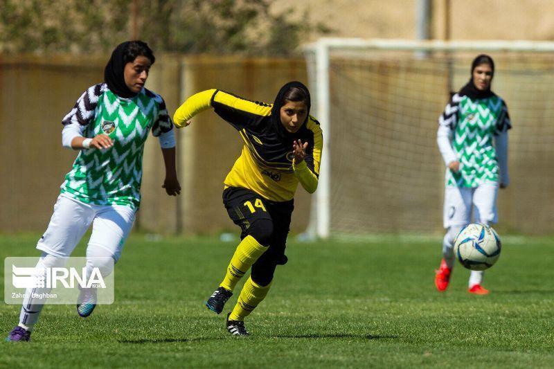 تیم فوتبال پالایش گاز بانوان ایلام در جایگاه پنجم لیگ برتر ایستاد