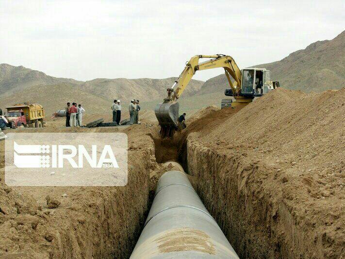 گاز رسانی به ۲ شهر میمه و زرین آباد دهلران ۷۰ درصد پیشرفت فیزیکی دارد