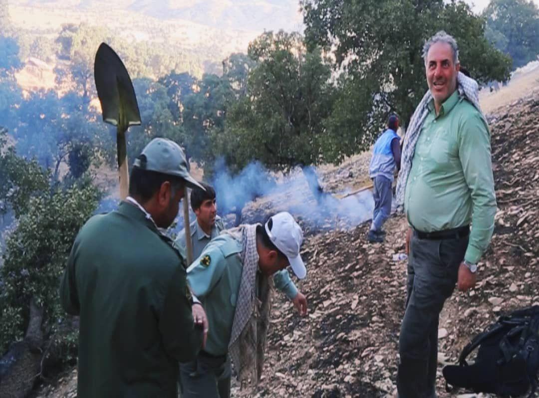 کاهش ۹۳ درصدی حریق در جنگلها و مراتع استان ایلام