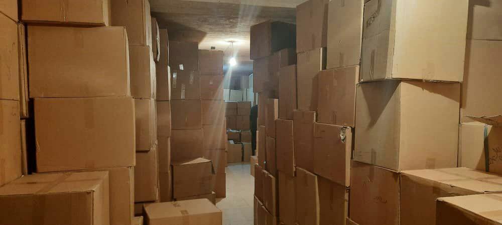 ۴ میلیون ماسک قاچاق به ارزش ۶۰میلیارد ریال توسط سازمان اطلاعات سپاه امیرالمومنین(ع) استان ایلام کشف و ضبط شد