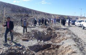 آیین کاشت سه هزار اصله نهال به نیابت از سه هزار شهید استان ایلام