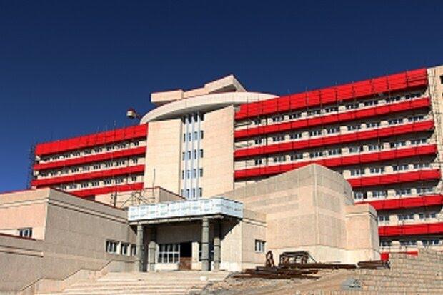 بهره برداری از بیمارستان ۳۷۶ تختخوابی شهر ایلام تا پایان تیرماه ۱۴۰۰