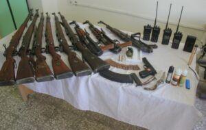 انهدام دو باند قاچاق سلاح و مهمات در مرز ایلام