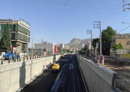 افتتاح زیرگذر شهید کشوری زودتر از موعد مقرر
