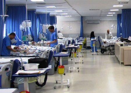 ۶۰نفر در بیمارستان شهدا دهلران بستری است