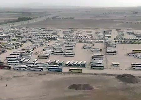 ۱۰۳ هزار زائر از طریق مرز مهران به خاک عراق تردد داشته اند